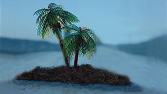 Teamprojekt auf einer Insel